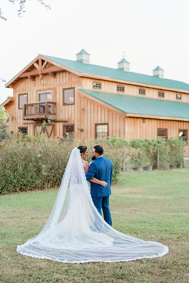 wedding at homestead barn