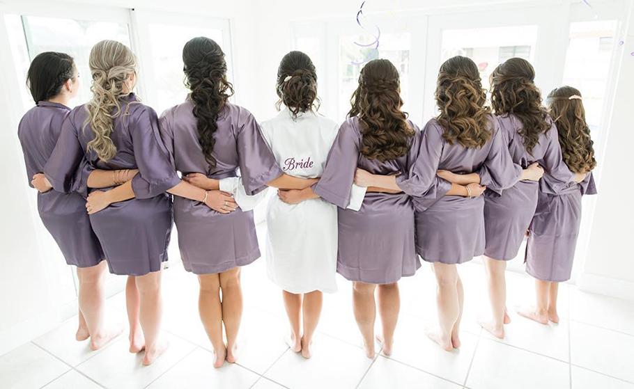 bridemaids grupo wedding at homestead florida