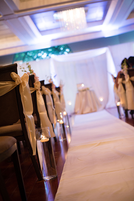 luxury wedding ceremony place at coral gables